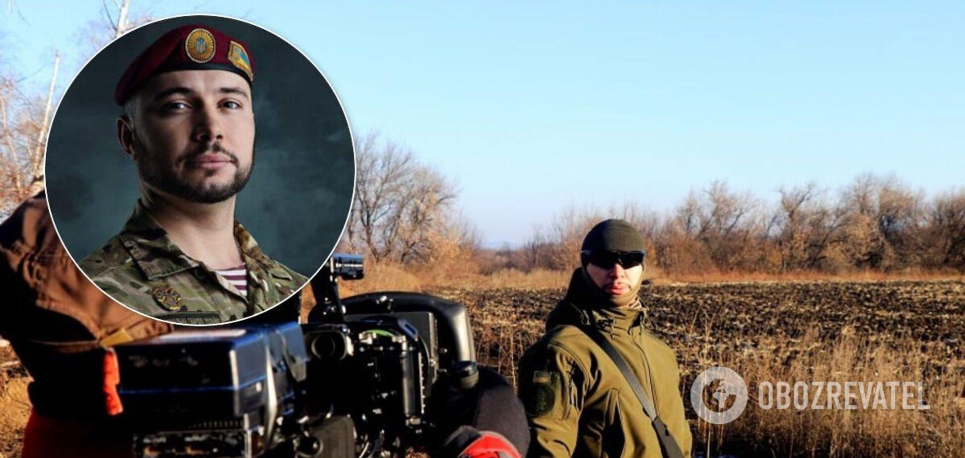 Віталій Марків: італійці зняли фільм про нацгвардійця на Донбасі