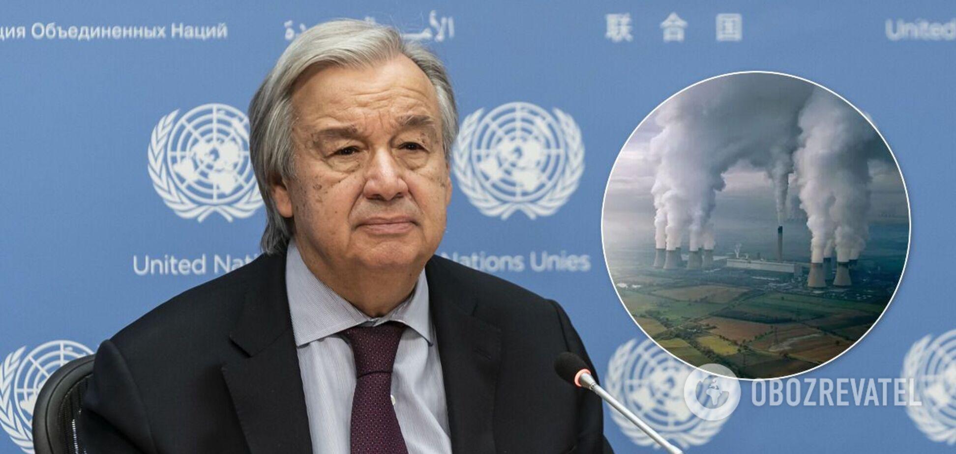 Гутерреш призывает мир к глобальному чрезвычайному положению