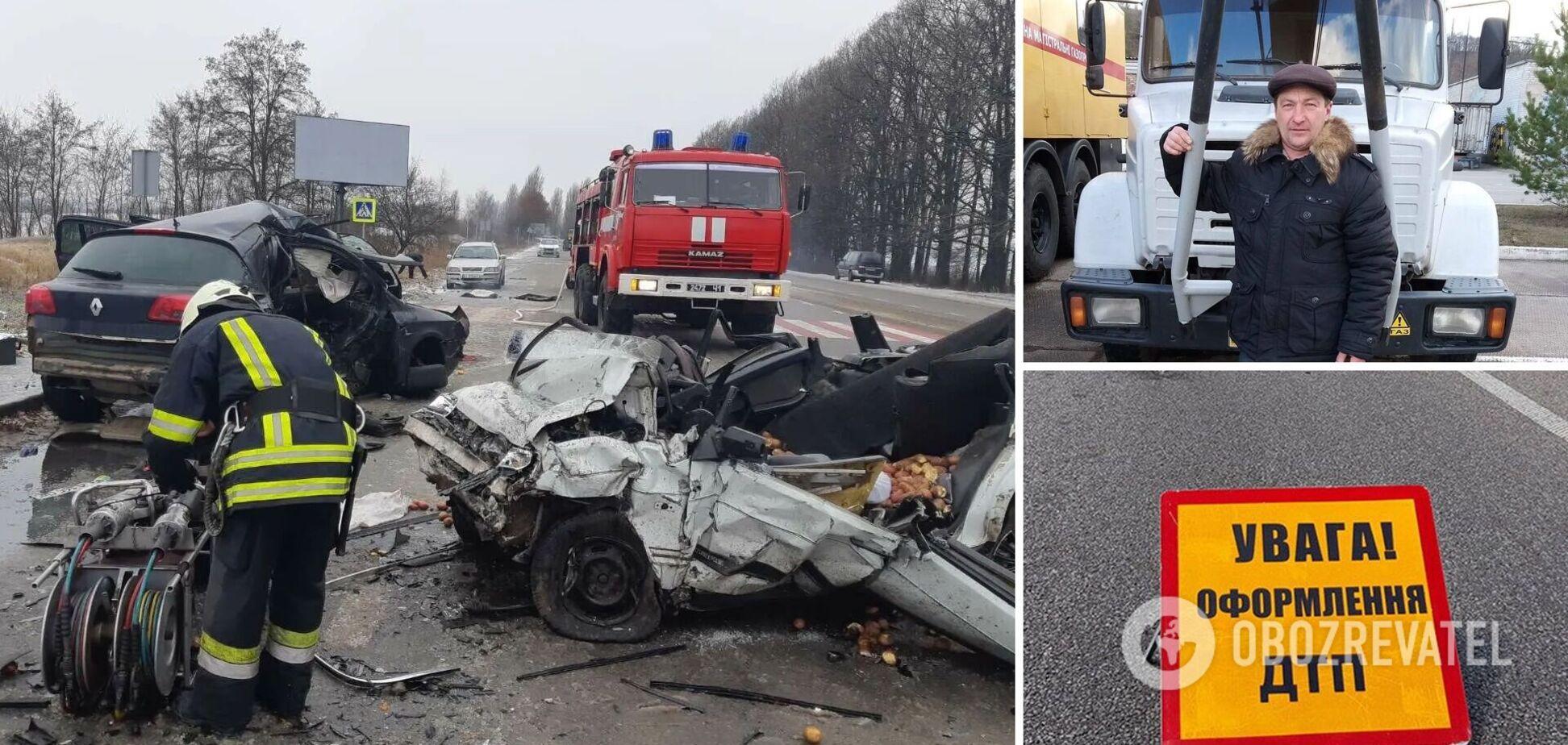'Везли бабусі продукти': на Київщині в ДТП розбилися батько з сином. Подробиці трагедії