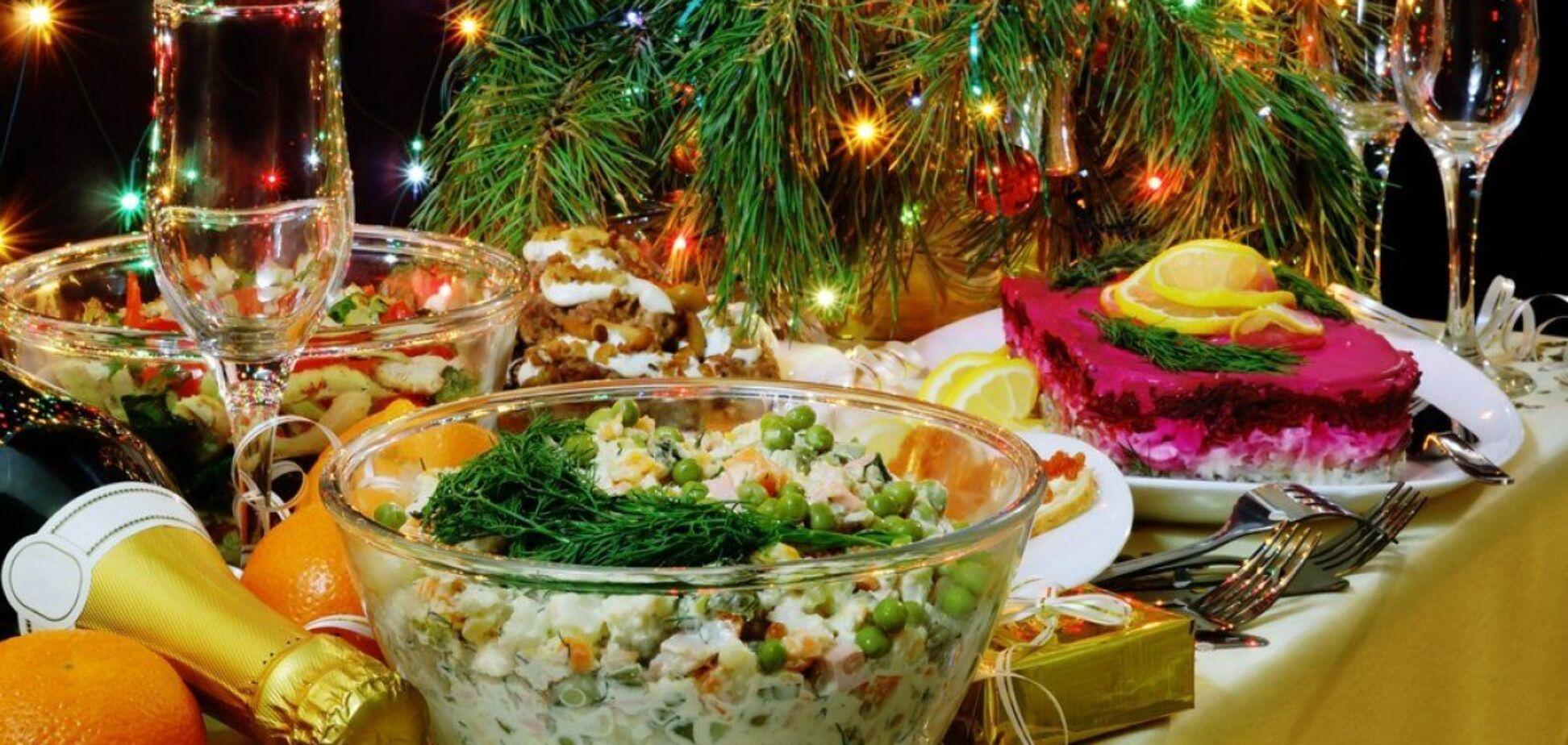 Стало відомо, скільки коштуватиме українцям новорічний стіл