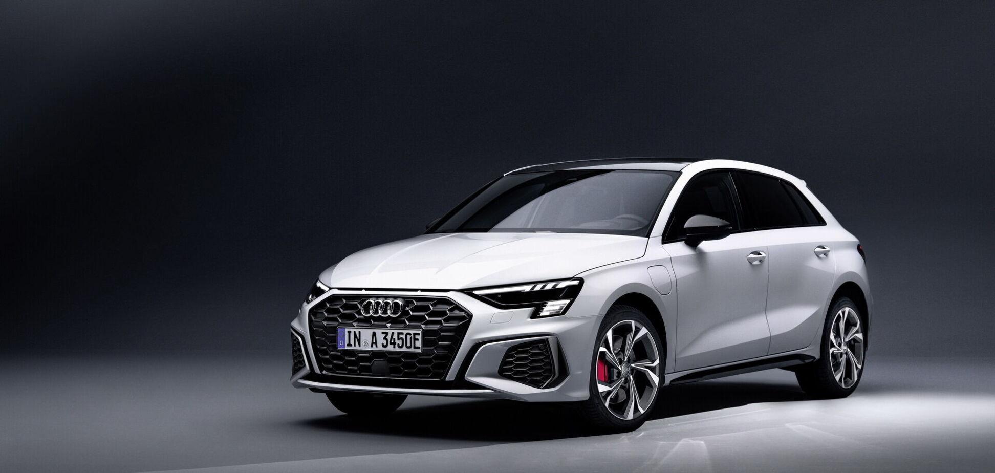 Audi розпочала продаж гібридного хетчбека A3 Sportback 45 TFSI e