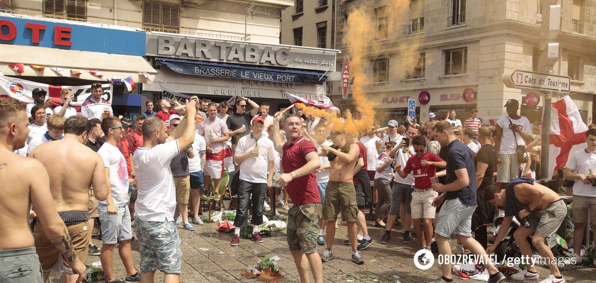 Фанати збірної Англії на Євро-2016
