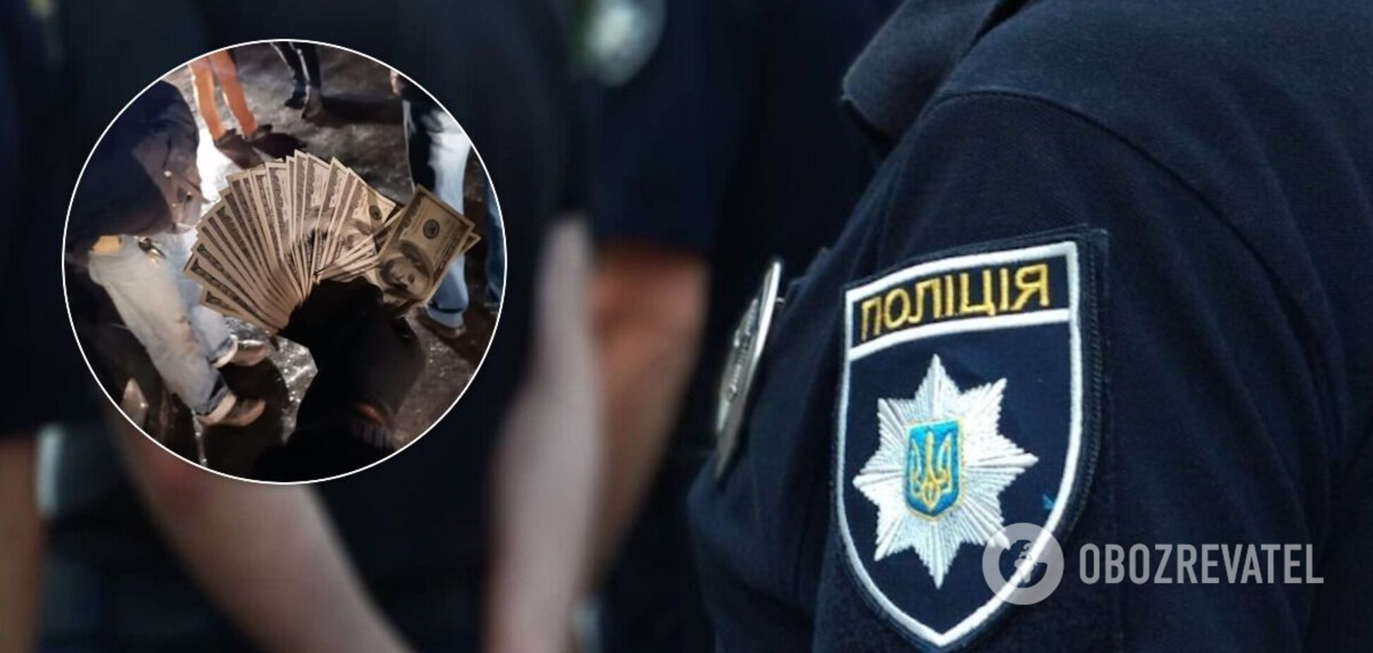 Полицейских поймали 'на горячем'