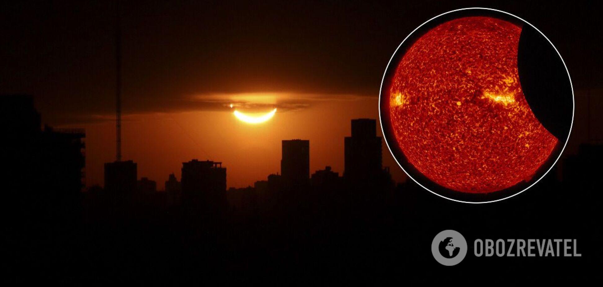 Затемнення Сонця 14 грудня