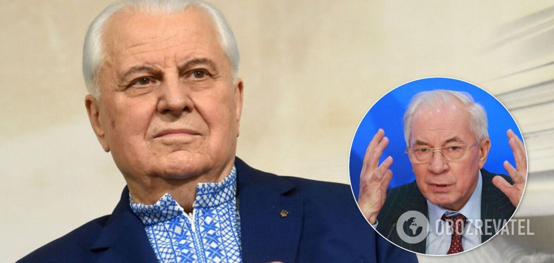 Прем'єр-втікач Азаров образив першого президента України Кравчука