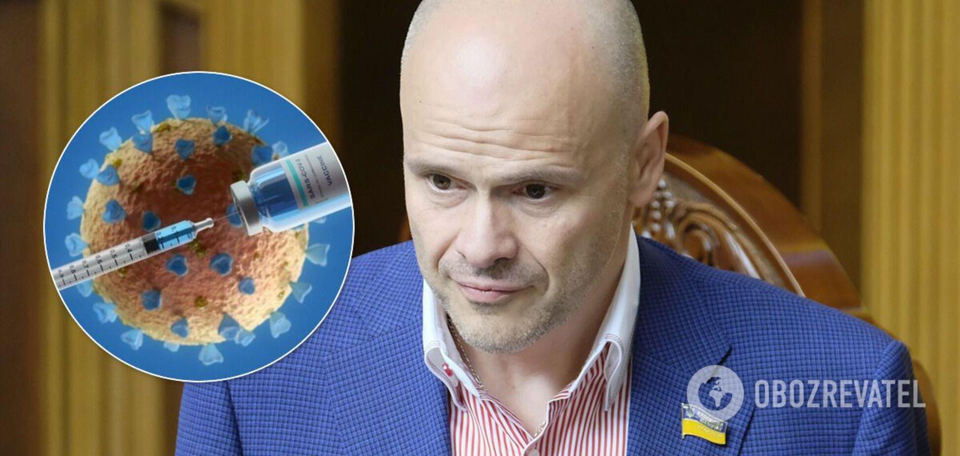 Українцям пообіцяли безкоштовну вакцинацію проти COVID-19
