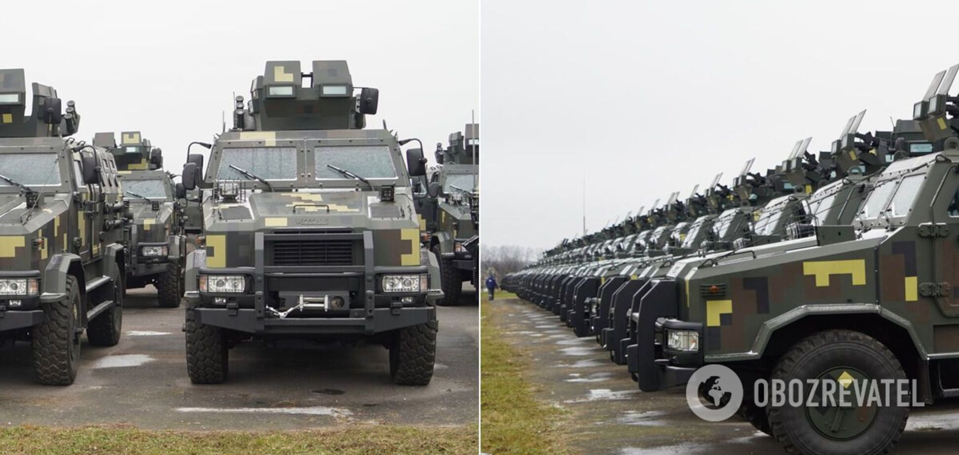 На вооружение ВСУ передали более 40 машин 'Козак-2'