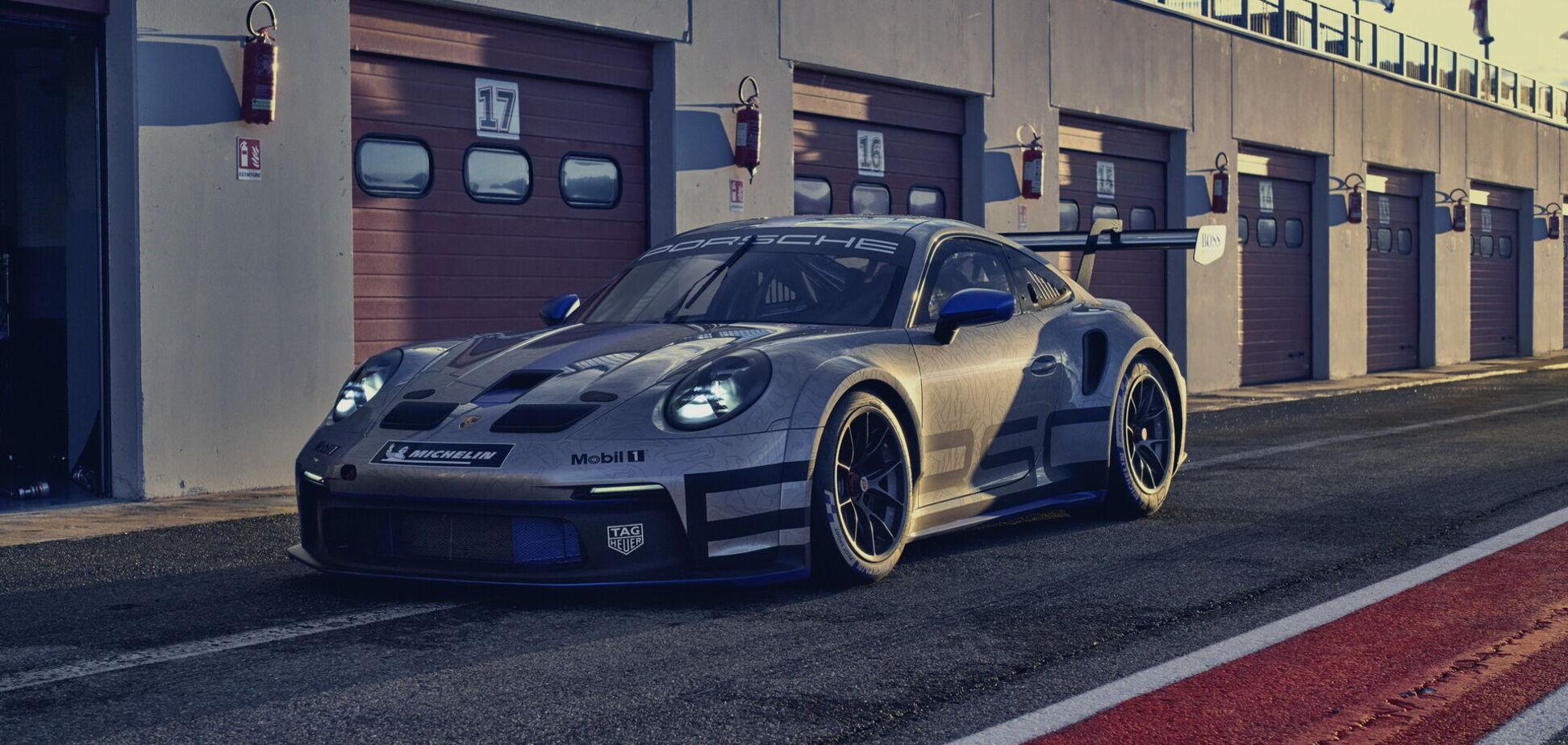 Сім'ю Porsche 911 поповнила екстремальна версія GT3 Cup