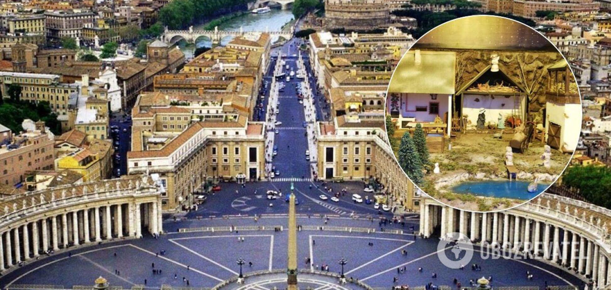 Украинский вертеп впервые показан на выставке в Ватикане