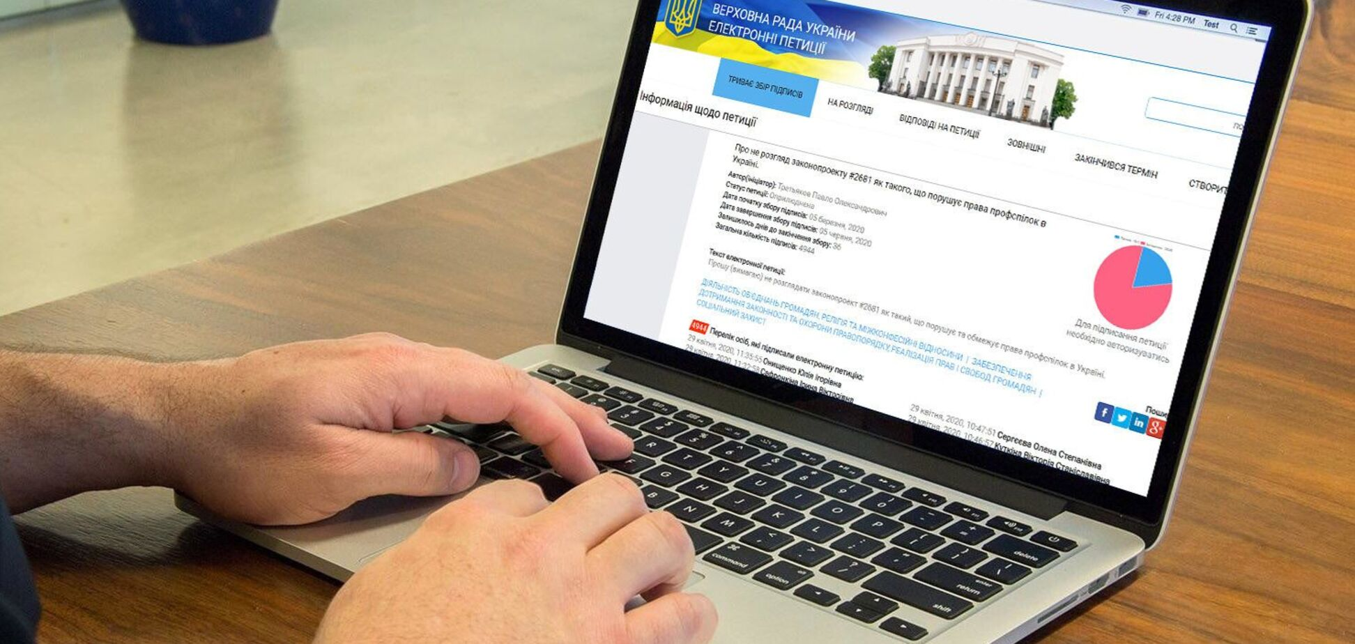Електронна петиція