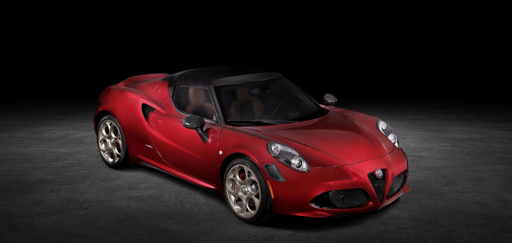 Alfa Romeo представила спецверсію спайдера на честь спорткара з 60-х