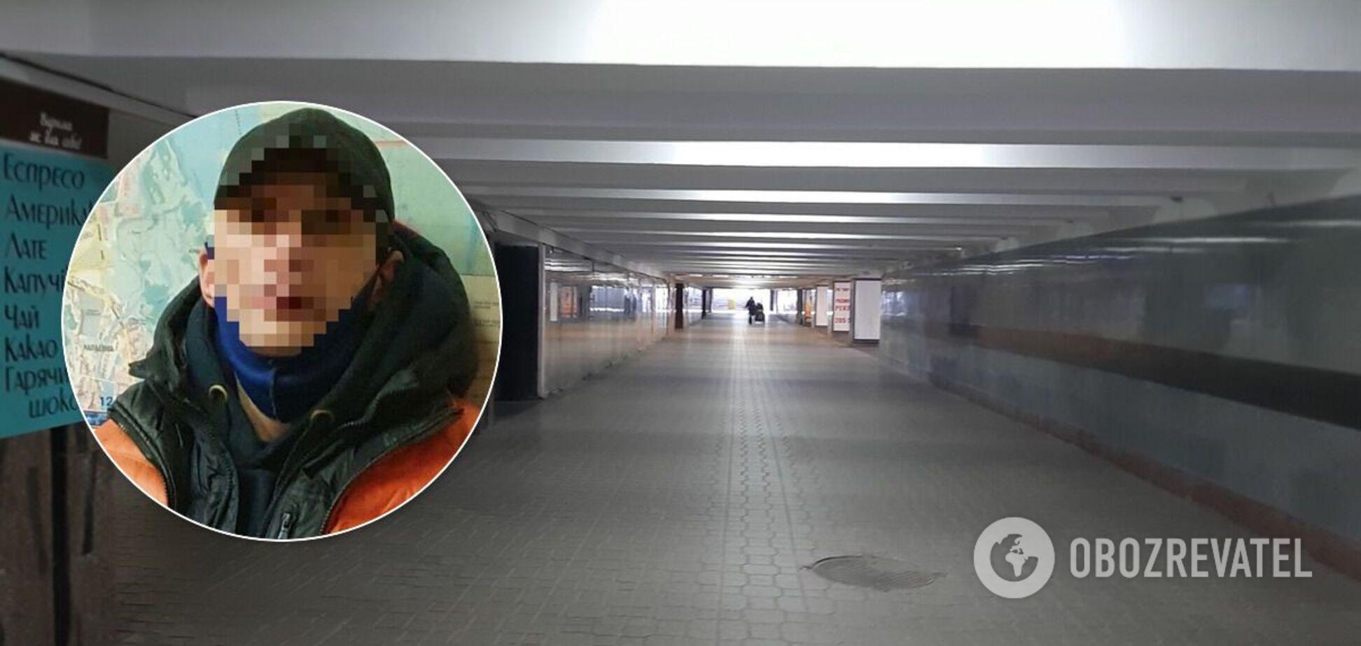 Вбивство сталося в підземному переході в центрі Києва