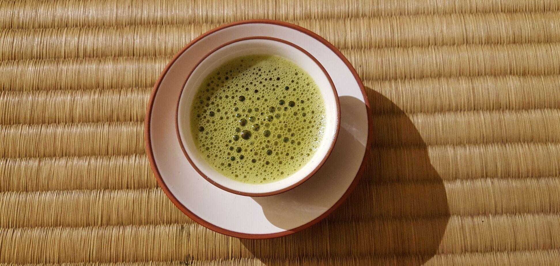 Японський чай матчу містить особливий вид антиоксидантів – катехіни