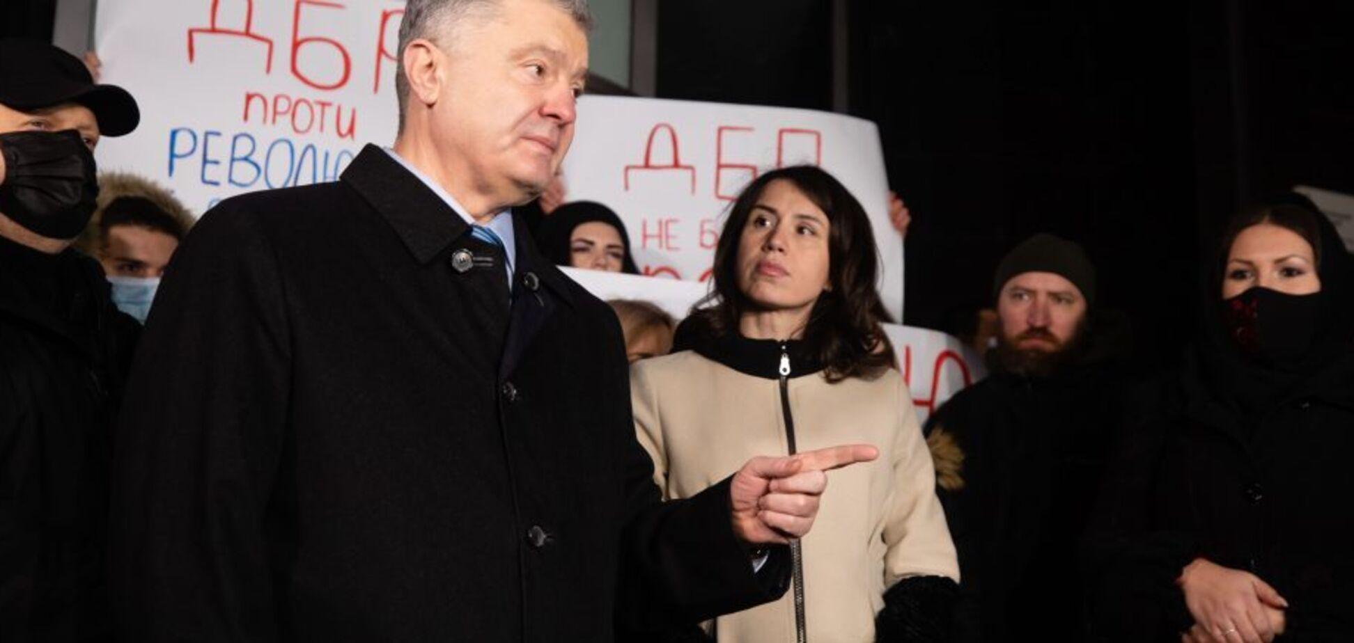 Петро Порошенко і Тетяна Чорновол