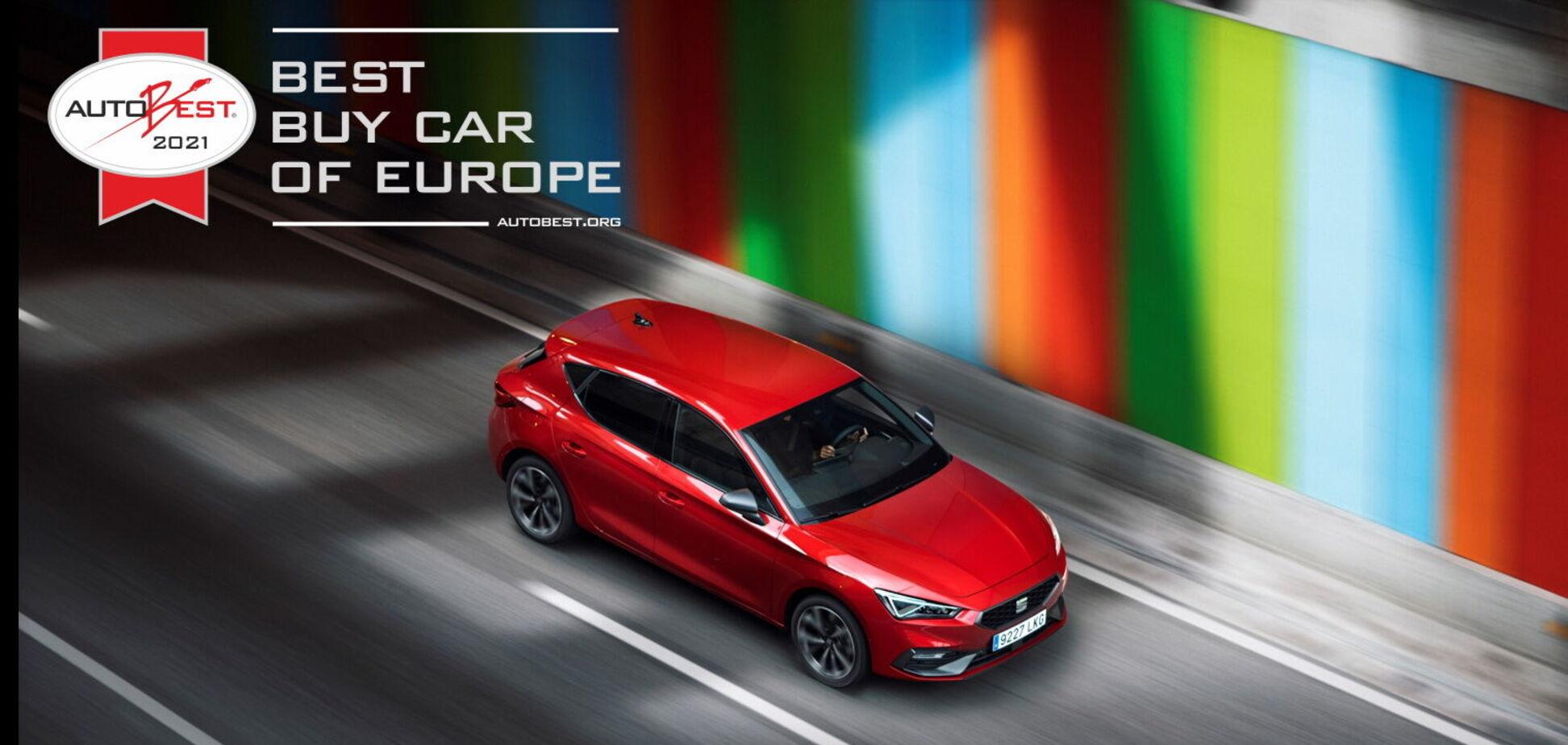 SEAT Leon отримав головну нагороду конкурсу Autobest 2021