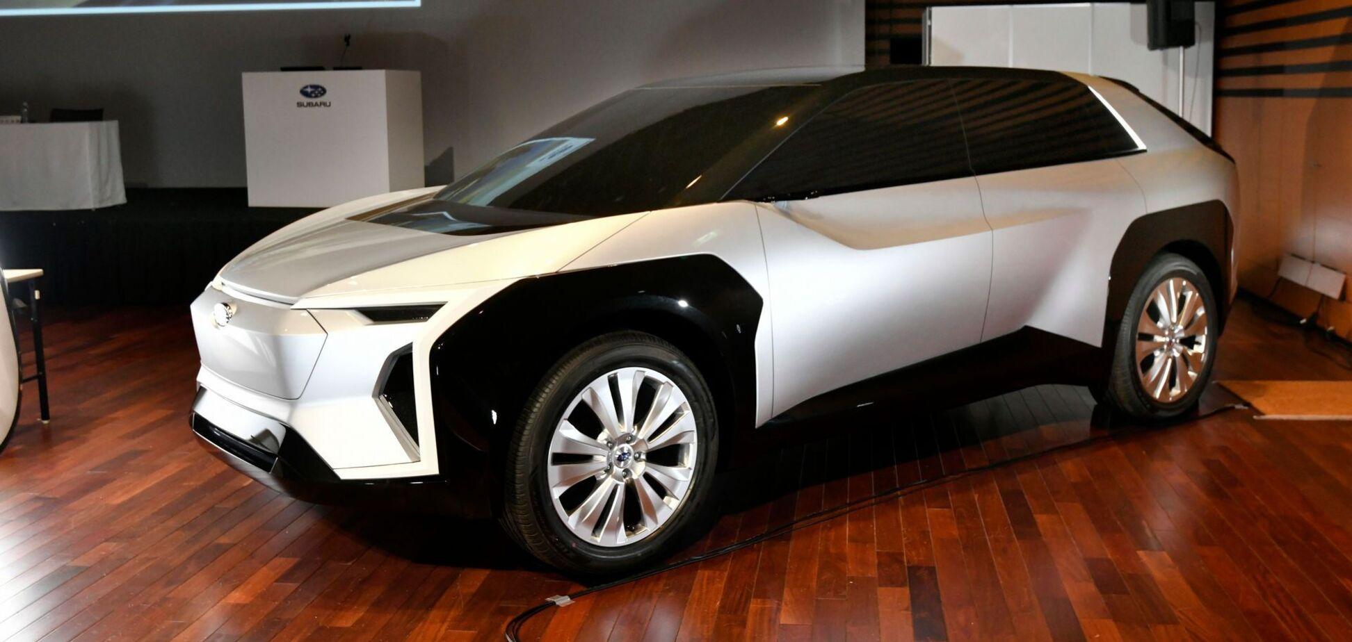 Subaru готовит первый серийный электрический кроссовер
