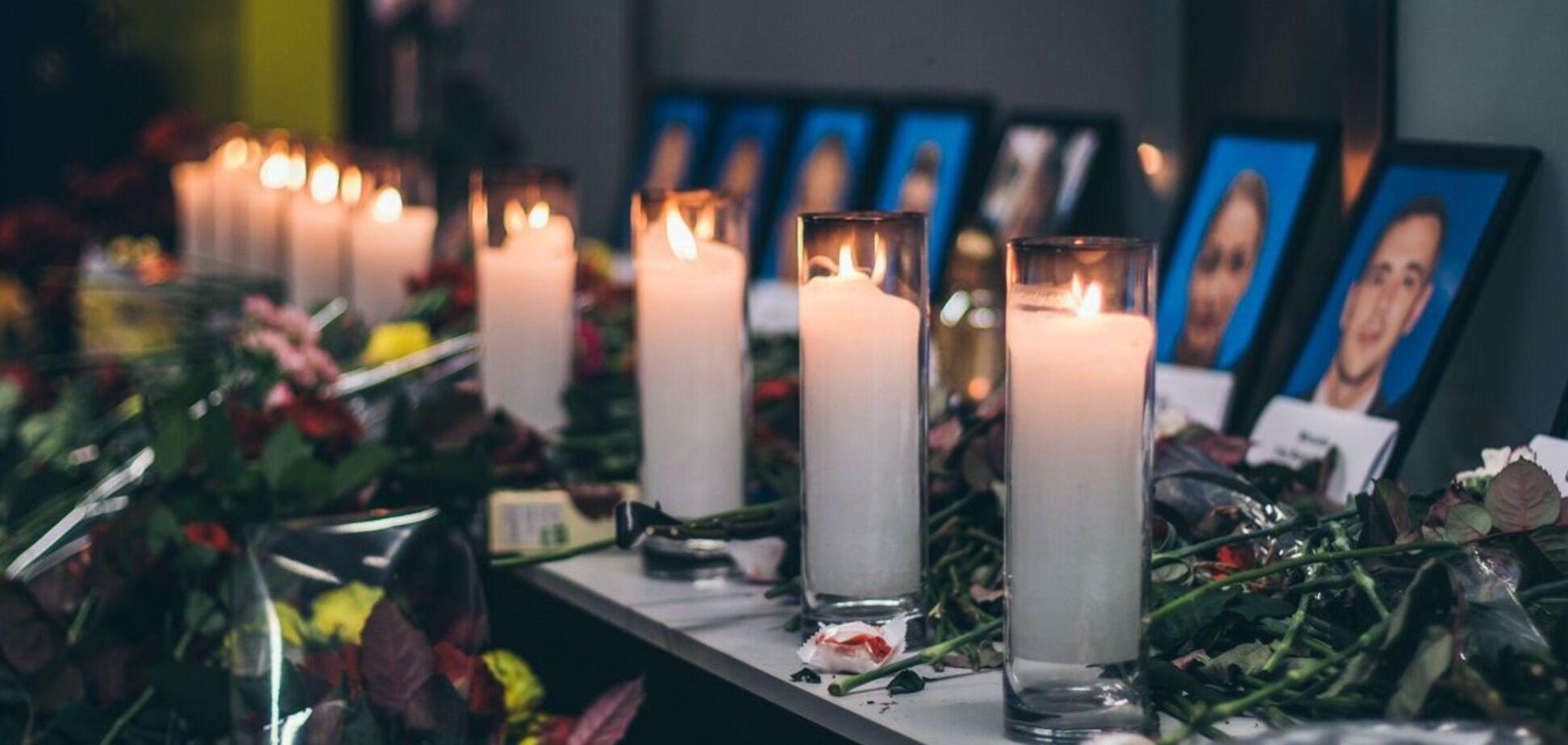 У Києві встановлять меморіал загиблим внаслідок катастрофи літака МАУ в Ірані