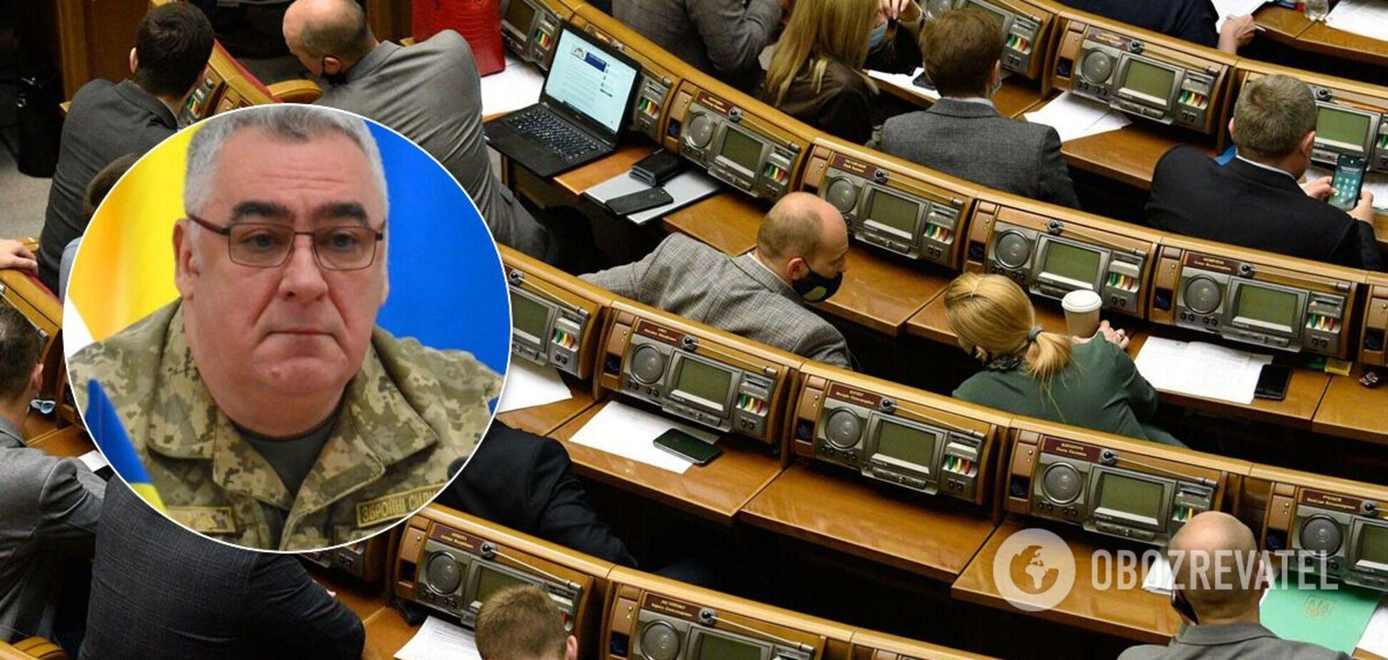 Рада звільнила міністра у справах ветеранів Бессараба
