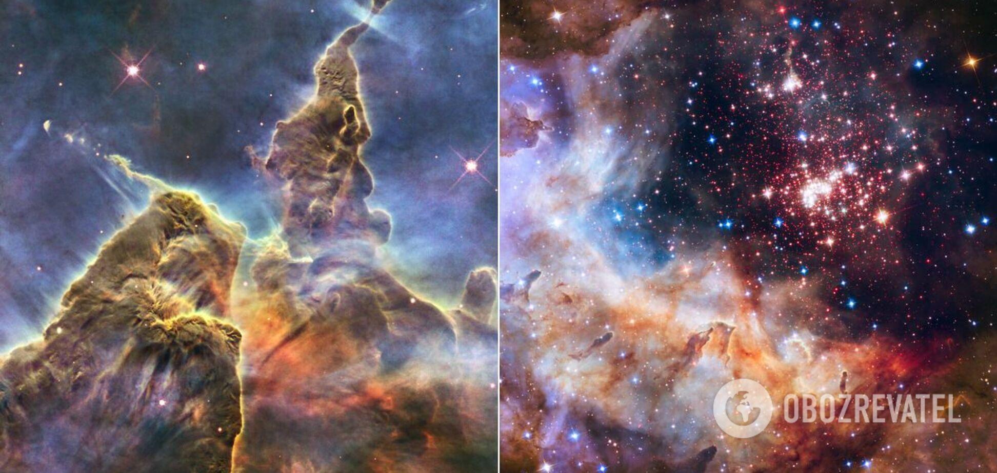 NASA опубликовало 30 невероятных фото космоса с телескопа Хаббл