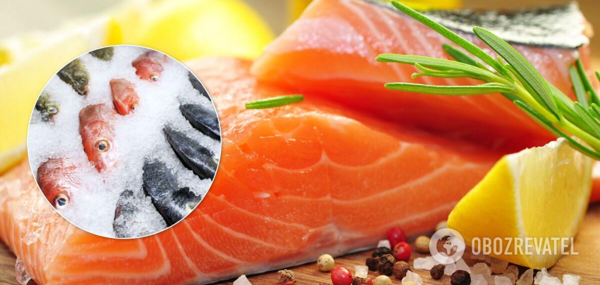 У Союзі споживачів назвали хитрощі продавців із рибою