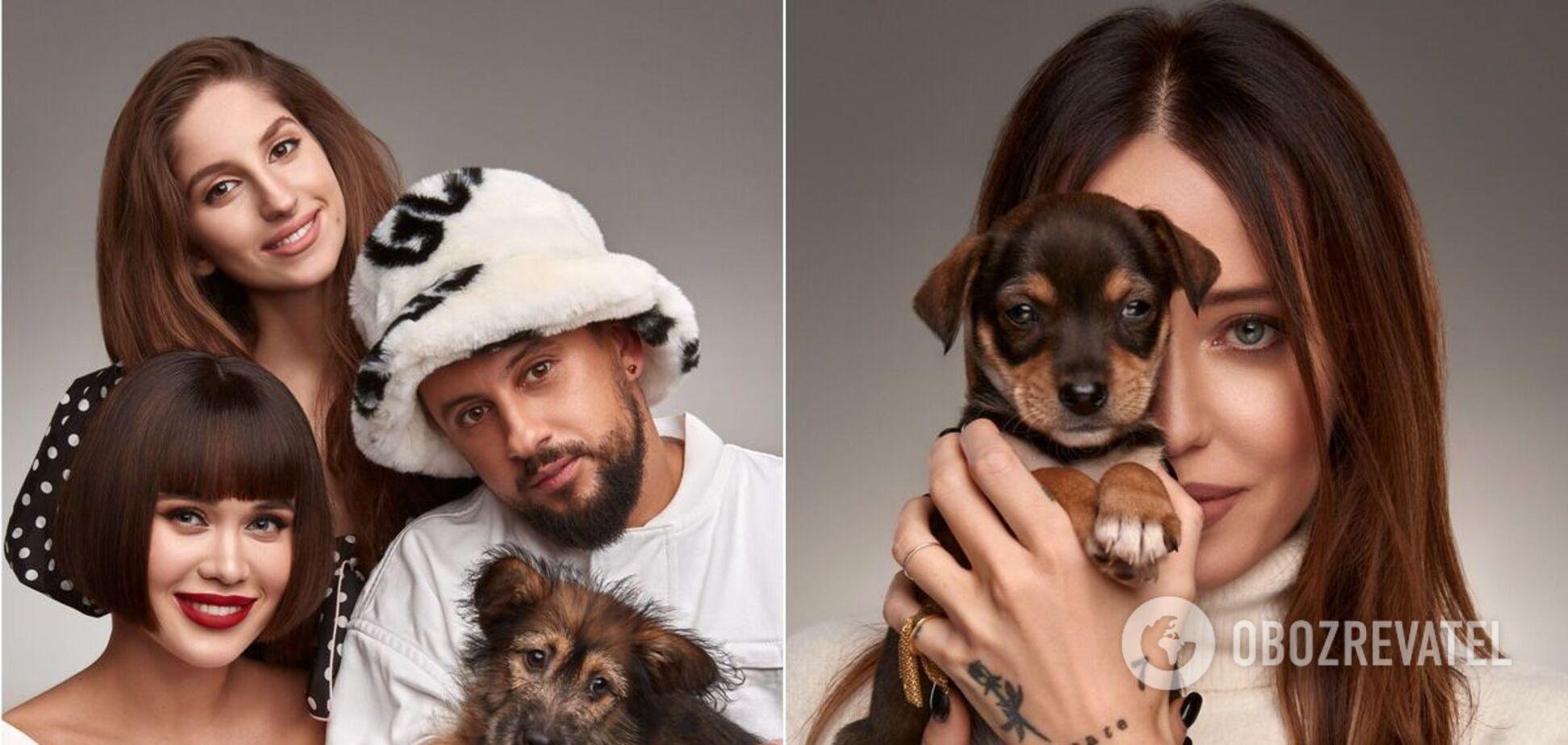 Зірки знялися для календаря на підтримку бездомних тварин