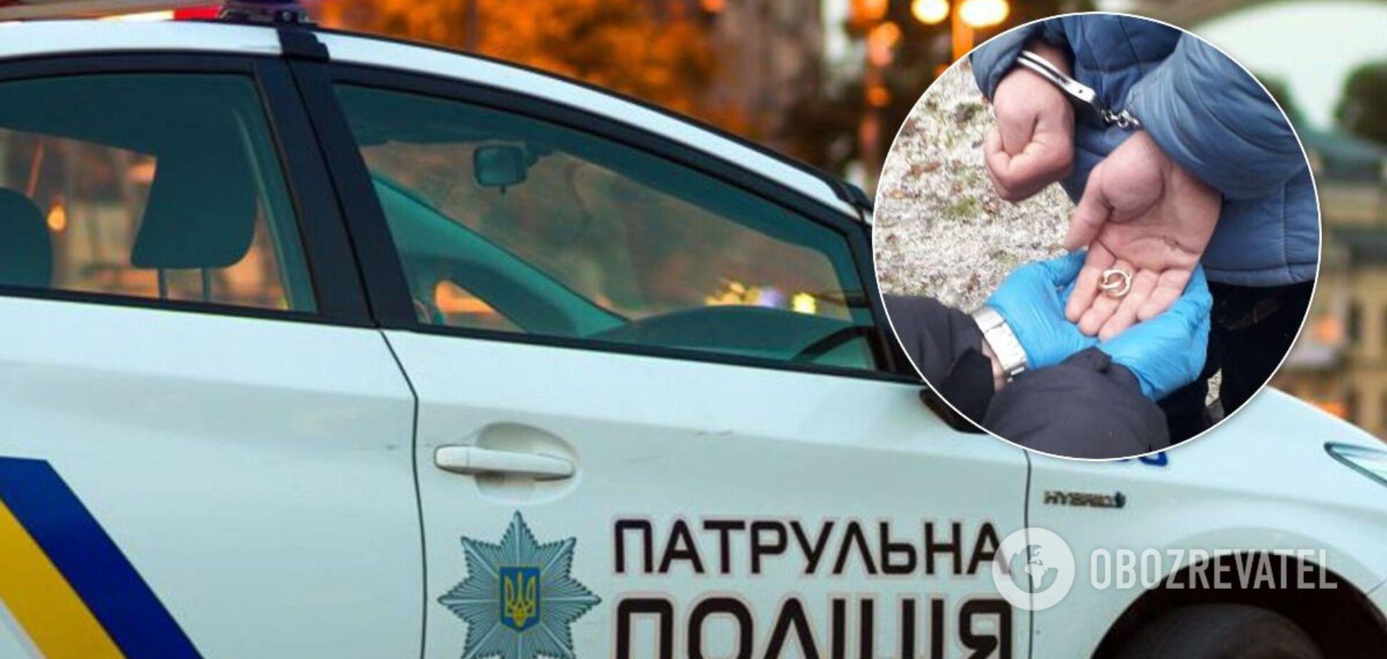 У Києві спіймали грабіжника