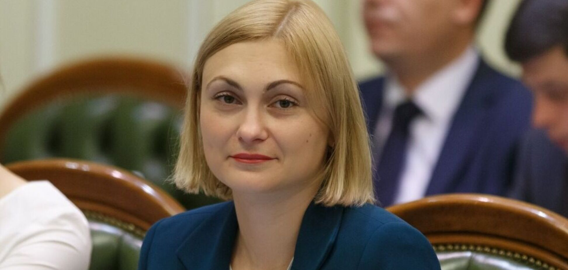 Заступниця голови фракції Слуга народу Євгенія Кравчук