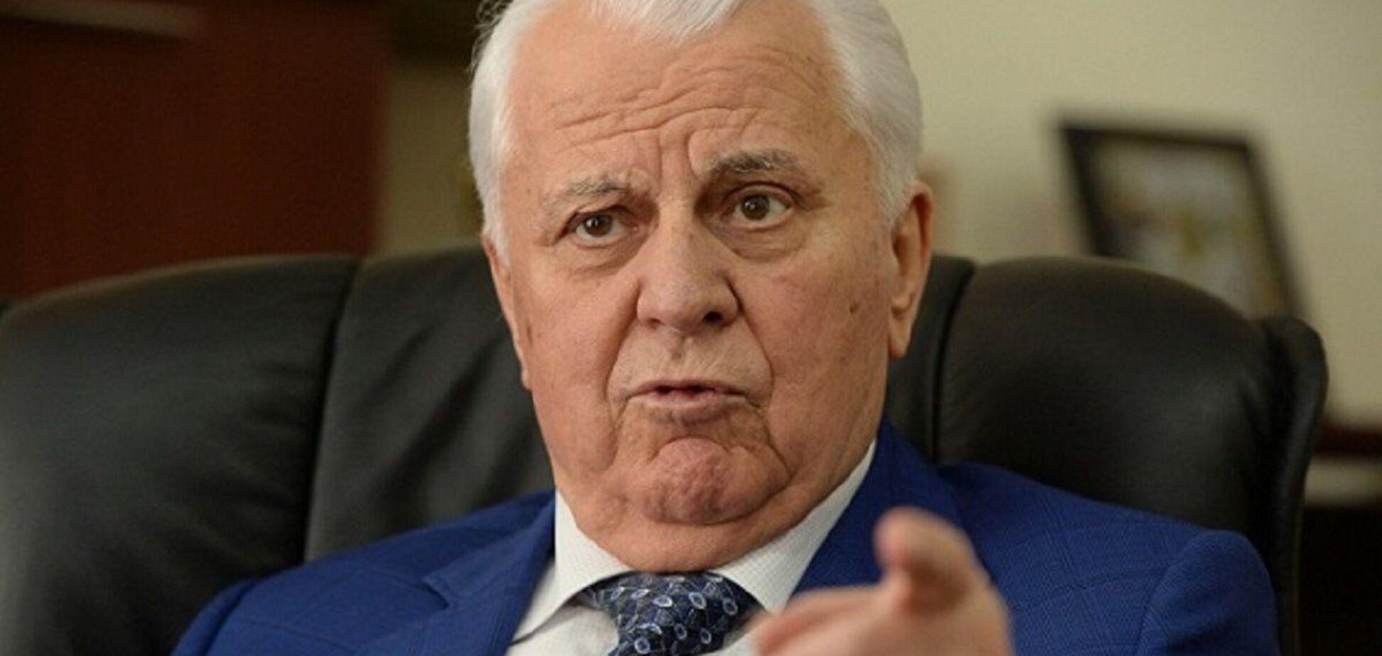 Кравчук: Тема Криму і Донбасу є сьогодні 'найболючішою'