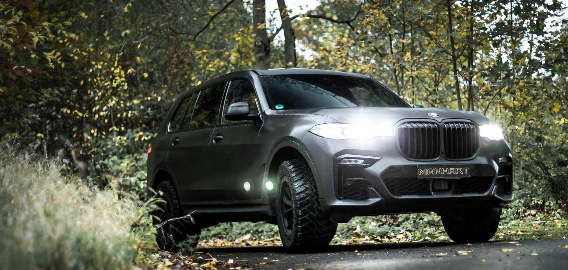 BMW X7 превратили в вездеход для бездорожья
