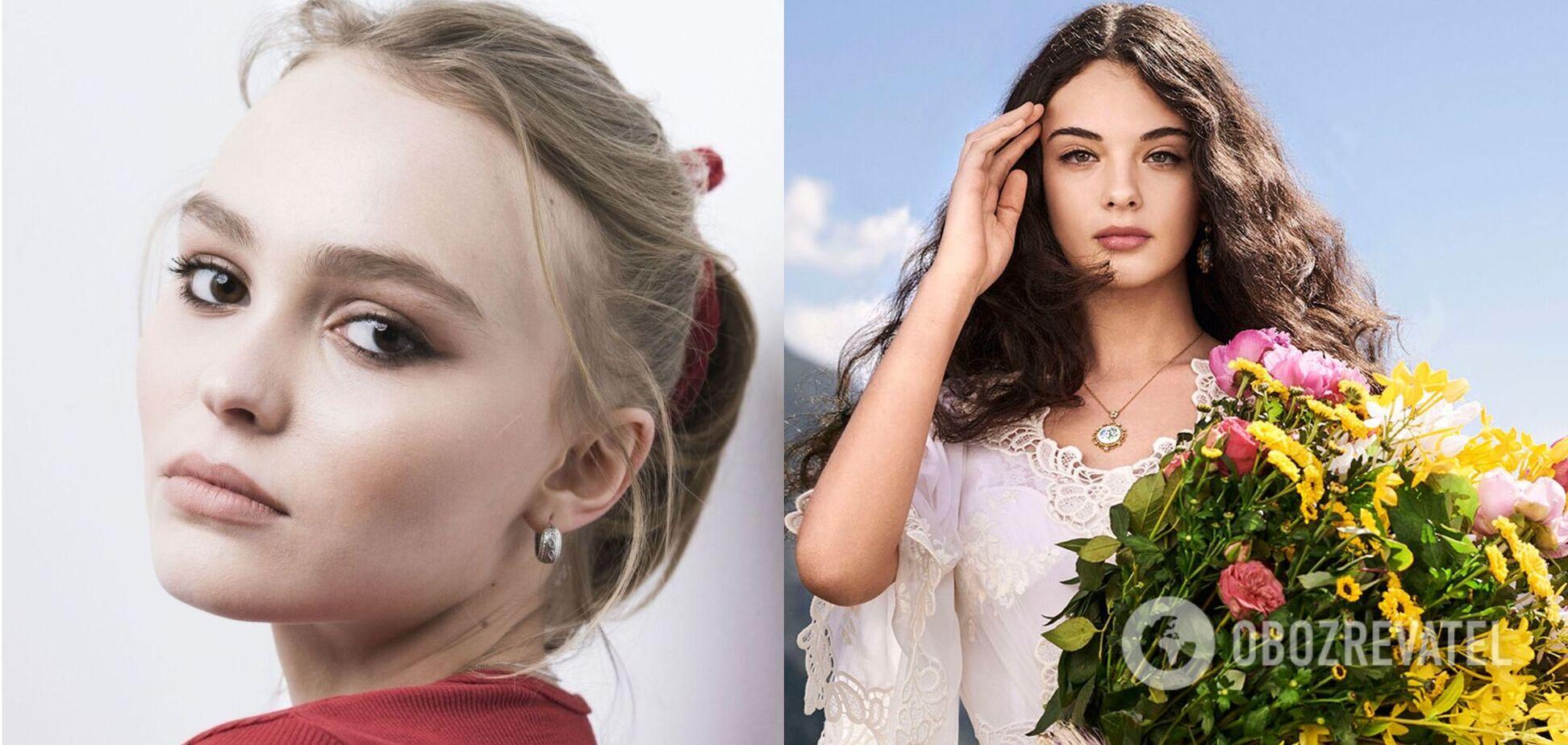 Лили-Роуз Депп и Дева Кассель