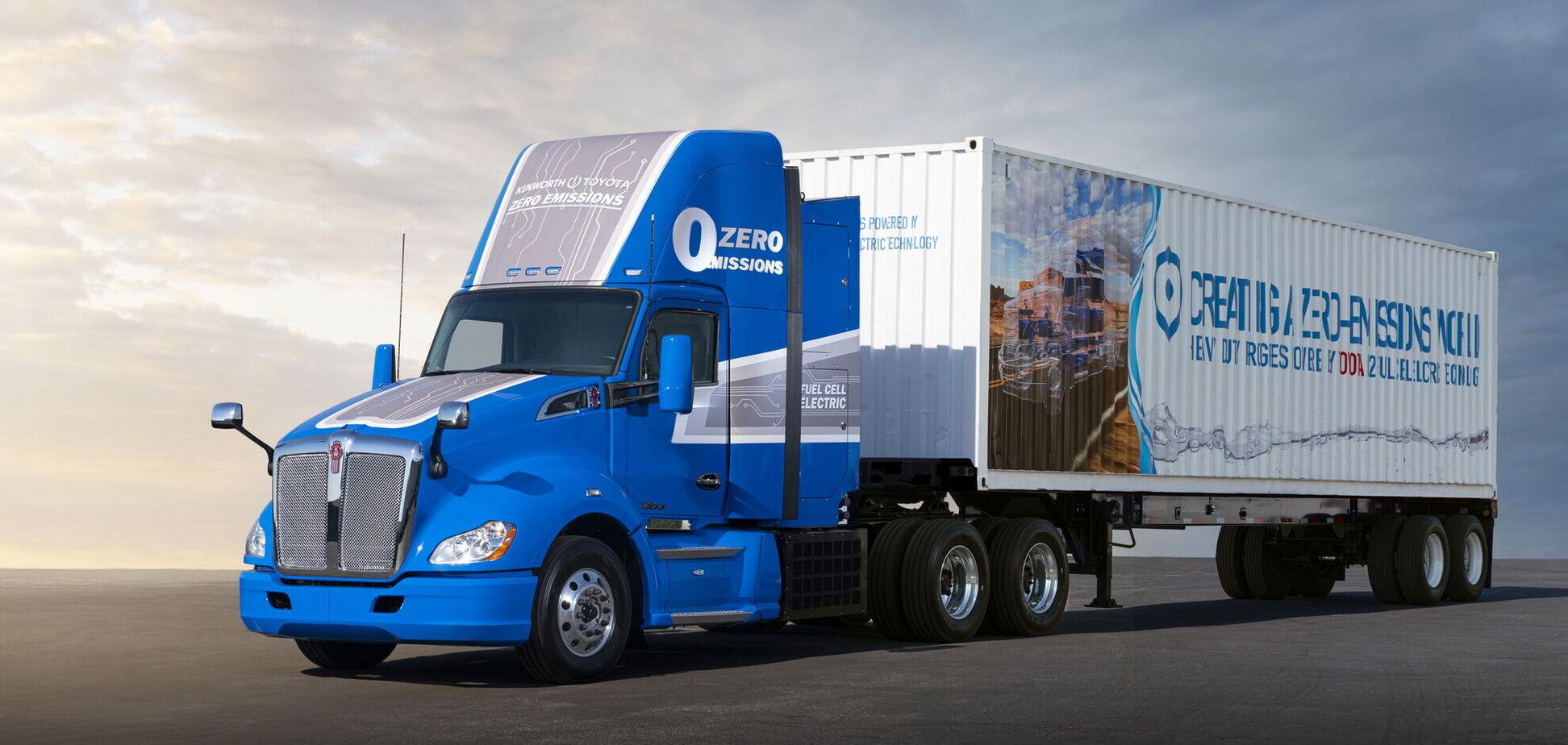 Toyota представила прототип водневої вантажівки для магістральних перевезень