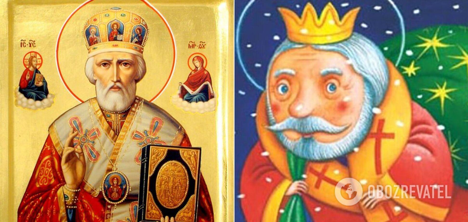 За переказами, святий Миколай народився в 270 році в багатій родині в Лікії