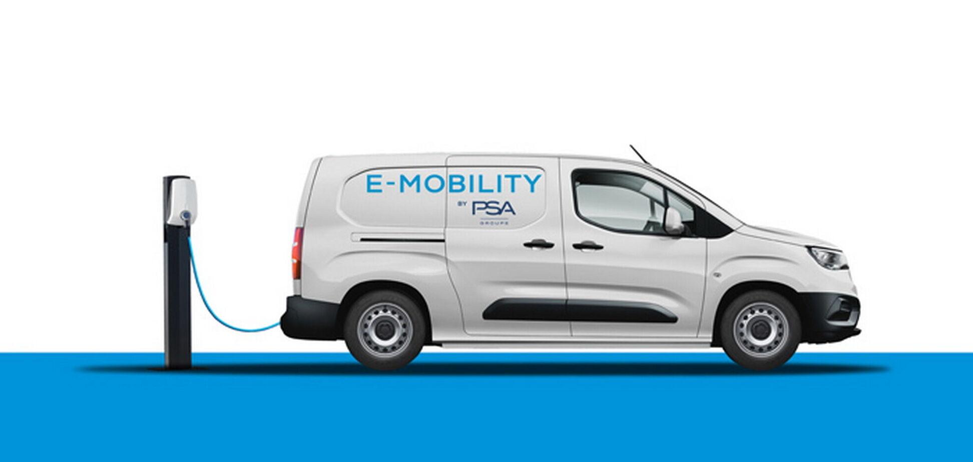 Група PSA готує сімейство компактних електричних фургонів