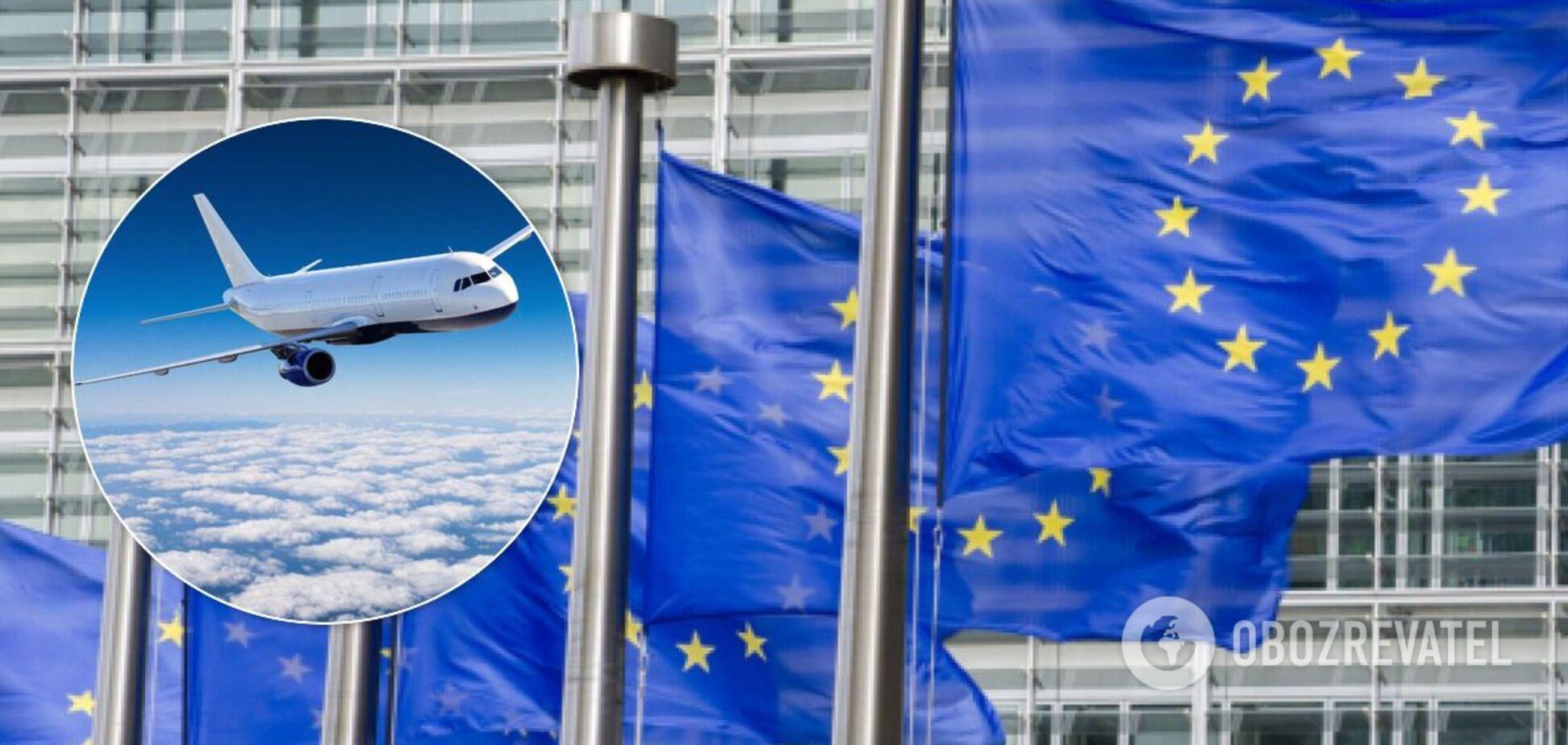 ЄС оновив список країн 'зеленої' зони