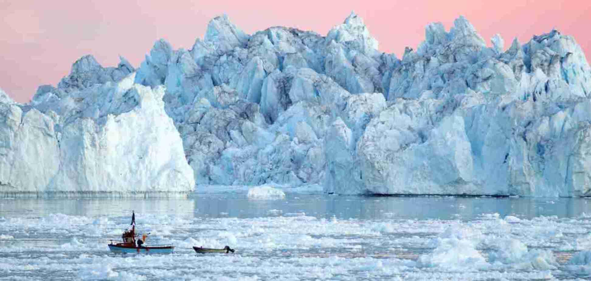 У Гренландії катастрофічно тане льодовиковий покрив