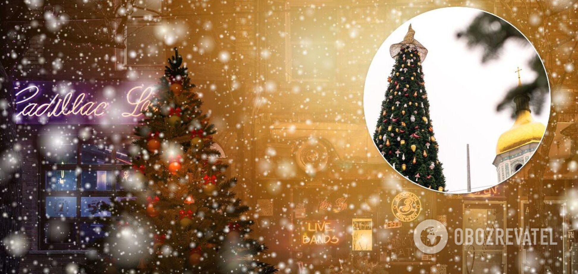 В Киеве к празднику будет три новогодние елки