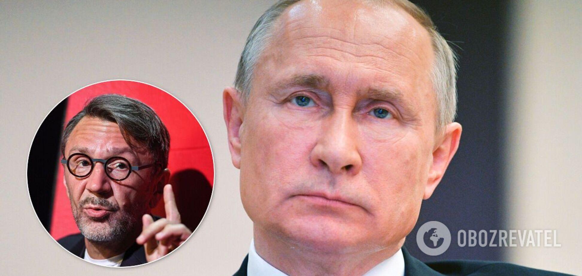 Путин резко ответил Шнурову на вопрос о Трампе и назвал это провокацией