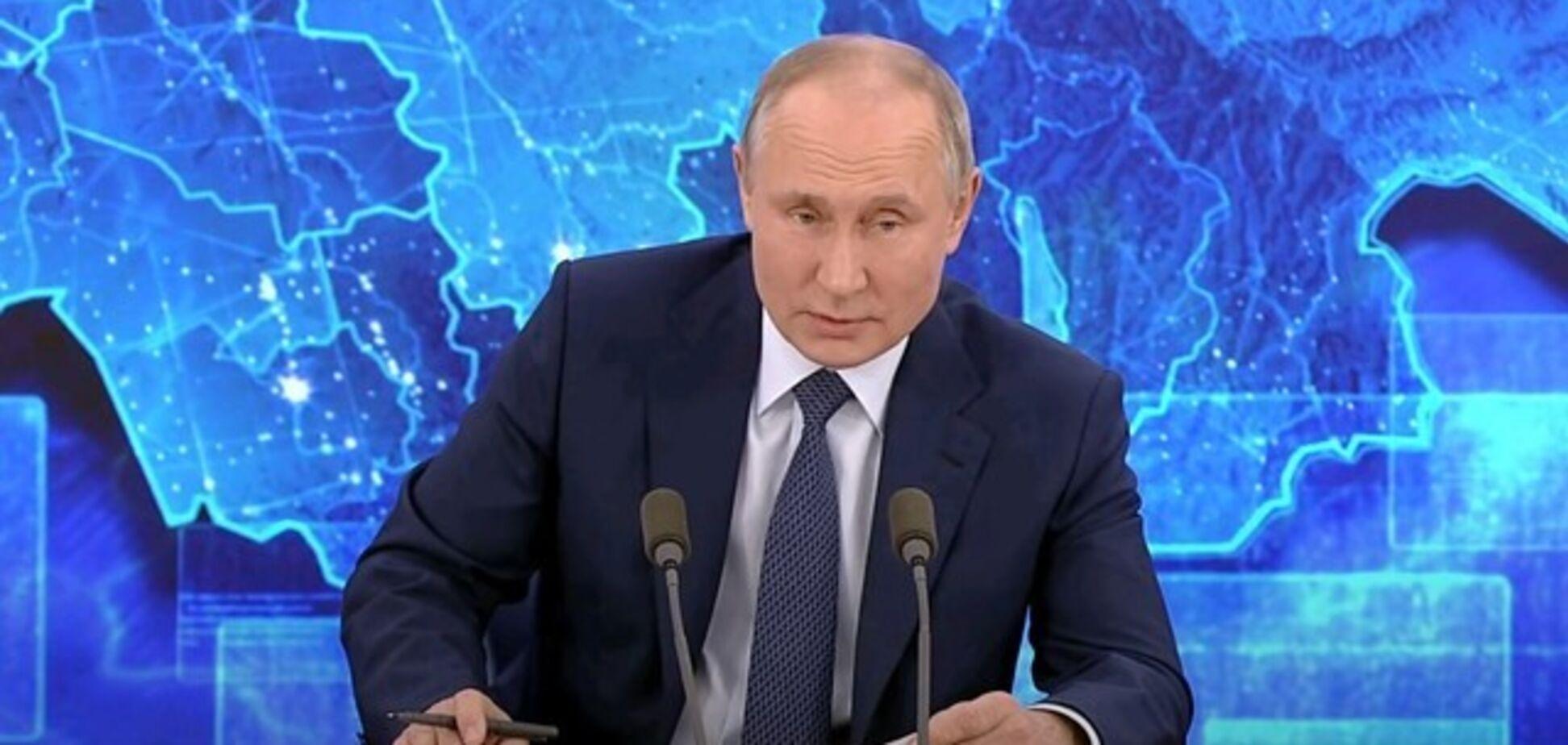 Прес-конференція: Путін поставив в незручне становище своїх підлеглих