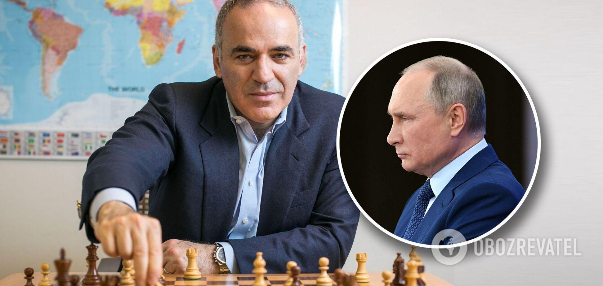 Каспаров рассказал, что думает о правлении Путина