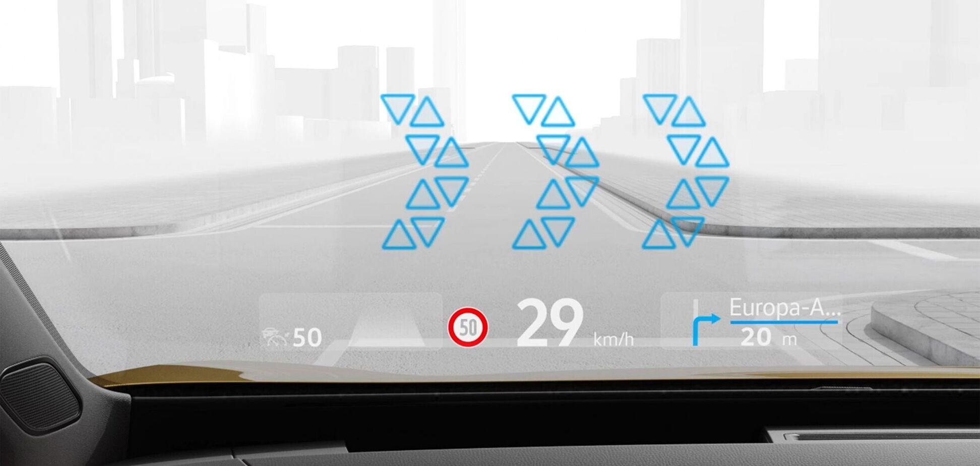 Volkswagen ID.3 и ID.4 получат проекционный дисплей с дополненной реальностью