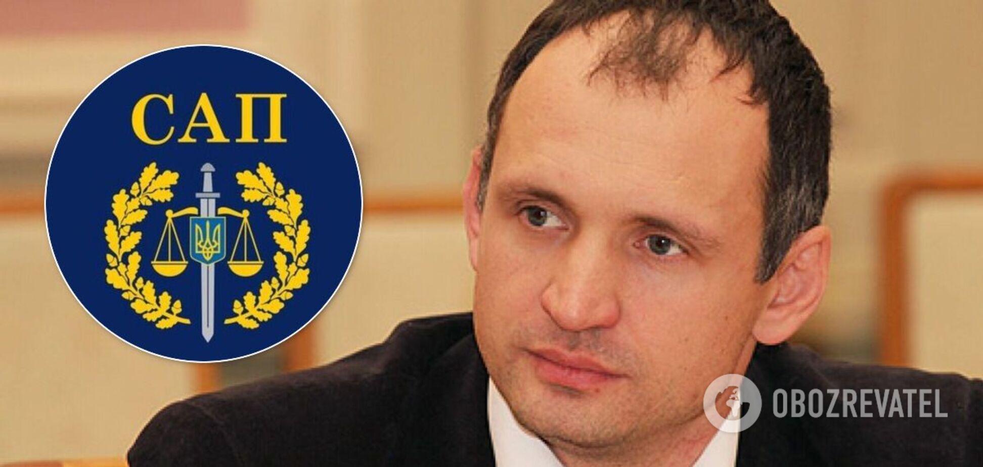 Прокуроры САП подписали подозрение замглавы Офиса президента Татарову
