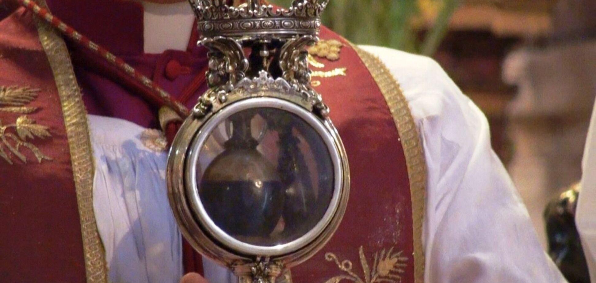 Краплина крові святого Януарія