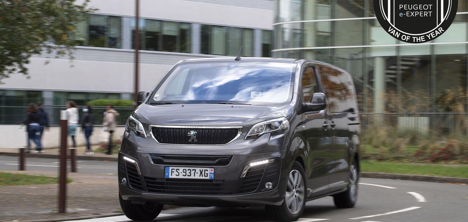 Електрофургони PSA Group отримали титул Van of the Year 2021