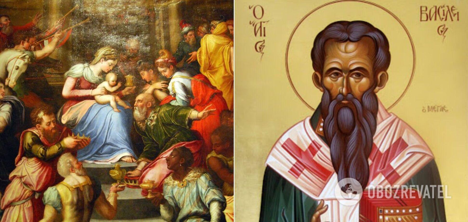 У січні 2021 року відзначаються Різдво Христове, Хрещення та інші свята