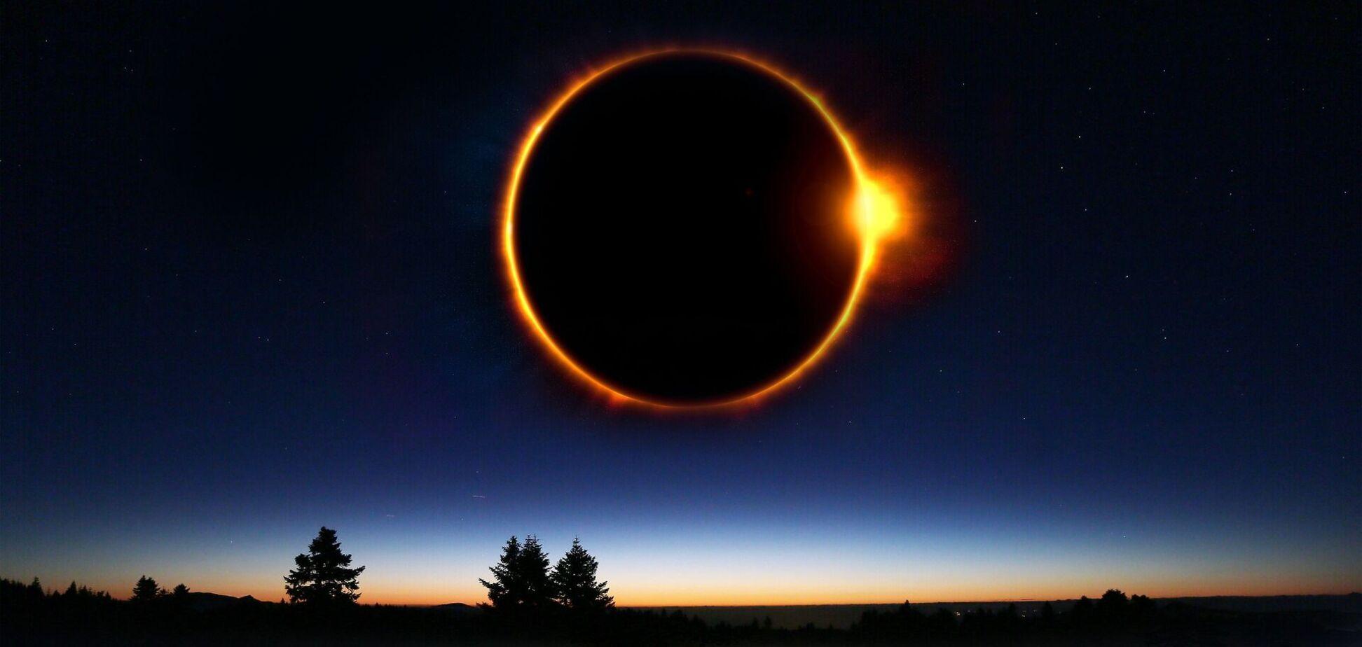 2021 року чотири затемнення: найближче відбудеться в травні