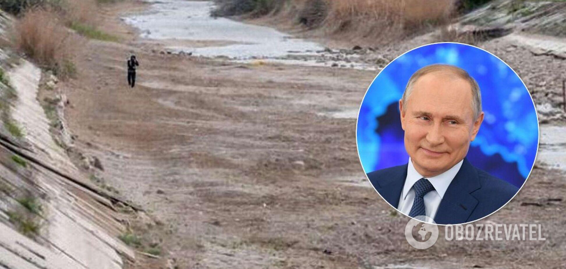 Крымчане отреагировали на слова Путина о воде