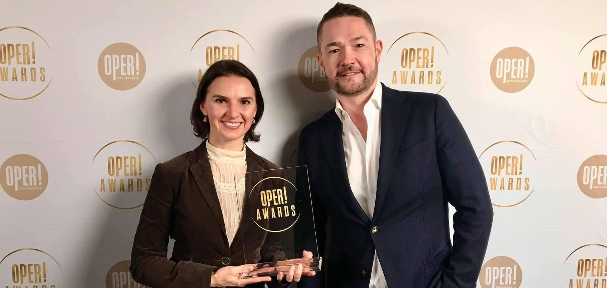 Українка стала переможницею премії Oper! Awards у Німеччині