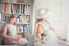 Дизайнерка створила одяг із ковдр і подушок для самоізоляції: як він виглядає