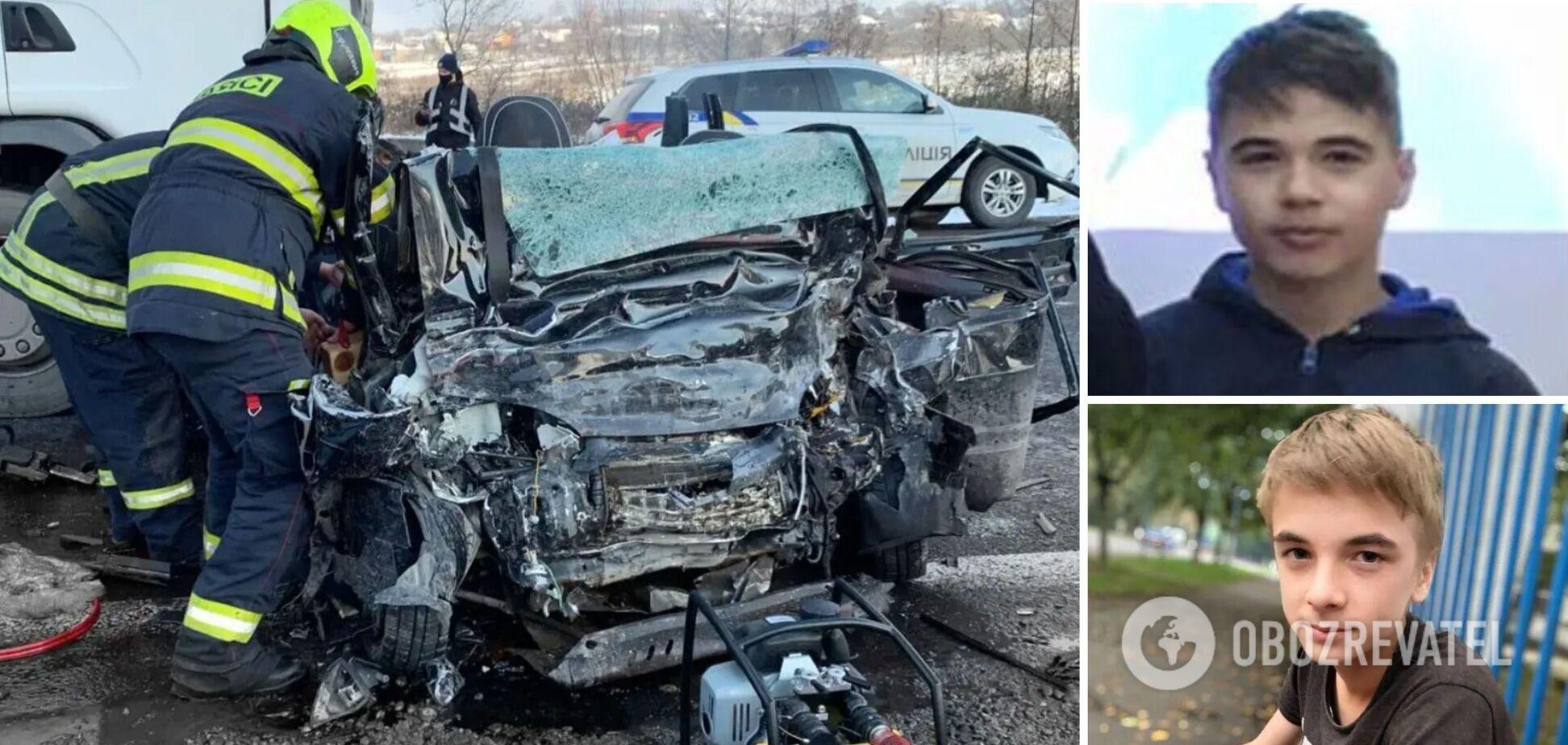 На Закарпатті в ДТП з фурою загинула сім'я з юними футболістами: подробиці трагедії