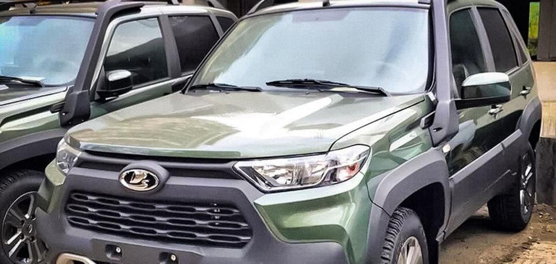 Перше фото нової Lada Niva з'явилося у мережі